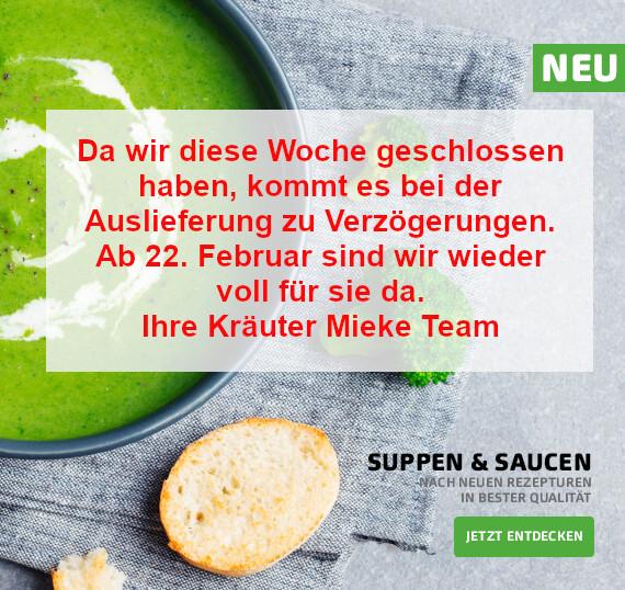 Suppen & Saucen