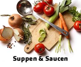 Saucen, Salatsaucen, Suppen