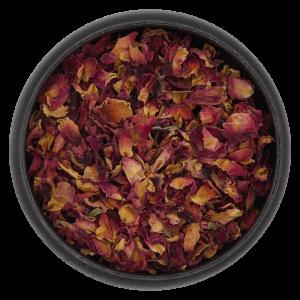 Rosenblütenblätter geschnitten Jetzt online kaufen auf https://shop.kraeuter-mieke.de/
