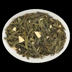 Grüner Tee (Sencha), Ingwer-Zitrone - ohne Aroma Jetzt online kaufen auf https://shop.kraeuter-mieke.de/