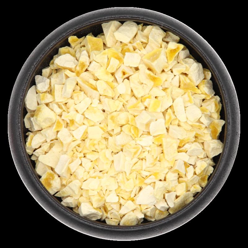 Mangostücke, gefriergetrocknet