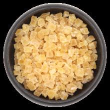 Ananasstücke kandiert